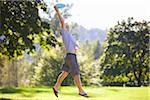 Man Playing Frisbee Stock Photo - Premium Rights-Managed, Artist: Ty Milford, Code: 700-04931687