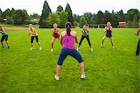Group of Women Working-Out, Portland, Multnomah County, Oregon, USA Stock Photo - Premium Royalty-Freenull, Code: 600-04931790