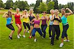 Group of Women Working-Out, Portland, Multnomah County, Oregon, USA Stock Photo - Premium Royalty-Free, Artist: Ty Milford, Code: 600-04931795
