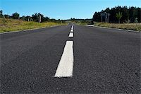 Lonely road to nowhere Stock Photo - Royalty-Freenull, Code: 400-04932522