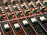 Mixing console in a recording studio Stock Photo - Royalty-Free, Artist: sumners                       , Code: 400-04932700