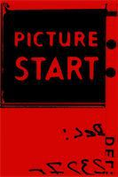 Picture start frame of 35 mm motion film Stock Photo - Royalty-Freenull, Code: 400-04936013