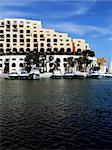 Modern marina and apartments in the Mediterranean island of Malta Stock Photo - Royalty-Free, Artist: PhotoWorks                    , Code: 400-04942276