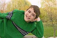A teenage boy with a big smile Stock Photo - Royalty-Freenull, Code: 400-04944775