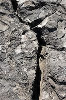 Close-up of rock with crack in Maui, Hawaii. Stock Photo - Royalty-Freenull, Code: 400-04951474