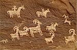 Prehistoric rock art; animal figures Stock Photo - Royalty-Free, Artist: oralleff                      , Code: 400-04968001