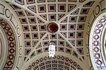 Beautiful ceiling; entrance hall to the railway station in Wellington, New Zealand Stock Photo - Royalty-Free, Artist: oralleff                      , Code: 400-04968004