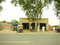 small town - village bus stop. Stock Photo - Royalty-Freenull, Code: 400-04969049