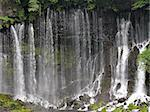 powerful japanese waterfall Shiraito in springtime Stock Photo - Royalty-Free, Artist: yuriz                         , Code: 400-04974884