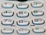 a close up of a phone keypad Stock Photo - Royalty-Free, Artist: rjseeney                      , Code: 400-04979029