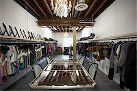 Interior of Clothing Showroom Stock Photo - Premium Rights-Managednull, Code: 700-04981811