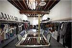 Interior of Clothing Showroom Stock Photo - Premium Rights-Managed, Artist: Sarah Murray, Code: 700-04981811