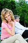 Mature man and woman having relationship problems Stock Photo - Royalty-Free, Artist: Elenathewise                  , Code: 400-04987399