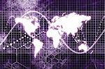 Purple Worldwide Business Communications Performance Abstract Background Stock Photo - Royalty-Free, Artist: kentoh                        , Code: 400-05000481