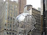 Globe at Trump Tower in New York City