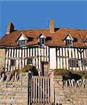 Mary Arden's House are now maintained and opened by The Shakespeare Birthplace Trust Stock Photo - Royalty-Free, Artist: davidmartyn                   , Code: 400-05020184