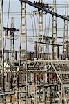Tele view of an electrical power station Stock Photo - Royalty-Free, Artist: marafona                      , Code: 400-05020298