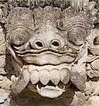 Barong carving on a Balinese temple Stock Photo - Royalty-Free, Artist: erikdegraaf                   , Code: 400-05022809