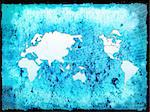 world map technology-style Stock Photo - Royalty-Free, Artist: ilolab                        , Code: 400-05023643