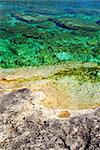 Rock and clear water of Georgian Bay at Bruce peninsula Ontario Canada Stock Photo - Royalty-Free, Artist: Elenathewise                  , Code: 400-05034472