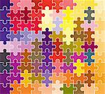 jigsaw puzzle pattern Stock Photo - Royalty-Free, Artist: dip                           , Code: 400-05036907