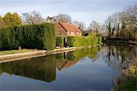 flooded homes - Houses next to canal or river. Stock Photo - Royalty-Freenull, Code: 400-05039294