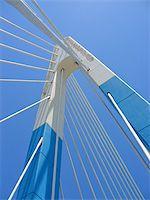 puentes - blue bridge in marbella spain Stock Photo - Royalty-Freenull, Code: 400-05041216