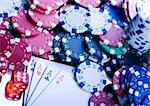 Play in the casino Stock Photo - Royalty-Free, Artist: JanPietruszka                 , Code: 400-05043729