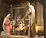 crib - symbol of christmas from vienna Stock Photo - Royalty-Free, Artist: sedmak                        , Code: 400-05055709