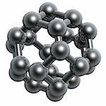 3d abstract black molecular structure Stock Photo - Royalty-Free, Artist: sgame                         , Code: 400-05056029