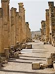 Main street cardo in Roman city. Jerash, Jordan Stock Photo - Royalty-Free, Artist: dbajurin                      , Code: 400-05062988