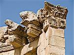 Temple detail on Jerash, Jordan, Corinthian detail. Stock Photo - Royalty-Free, Artist: dbajurin                      , Code: 400-05062994