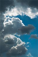 contrast cloudscape, dramatic sky just after storm Stock Photo - Royalty-Freenull, Code: 400-05063928