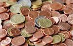 A background Photography of the Euro Cent Stock Photo - Royalty-Free, Artist: magann                        , Code: 400-05067302