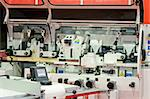 Interior of automatic line for woodworking machinery   Stock Photo - Royalty-Free, Artist: Baloncici                     , Code: 400-05070777
