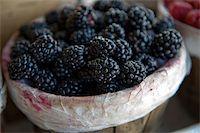 An image of fresh juicy blackberries Stock Photo - Royalty-Freenull, Code: 400-05079849