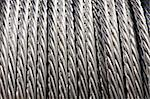 Construction Material - Roll of Metal Wire Strands Stock Photo - Royalty-Free, Artist: surpasspro                    , Code: 400-05084741