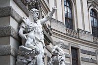 franxyz - Hercules statue at the Royal Palace Hofburg,Vienna, Austria Stock Photo - Royalty-Freenull, Code: 400-05085770