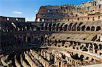 Ancient ruins of great stadium Colosseo, Rome, Italy Stock Photo - Royalty-Free, Artist: sailorr                       , Code: 400-05091965