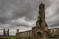 A view of the St Andrews cathedral ruins, Scotland Stock Photo - Royalty-Freenull, Code: 400-05093815
