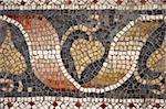 Byzantine mosaic from Great Palace Mosaic Museum, Istanbul, Turkey.
