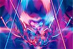 Pink-blue abstract dreamy background Stock Photo - Royalty-Free, Artist: Rashevskaya                   , Code: 400-05109161