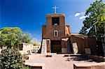San Miguel Church Santa Fe USA Stock Photo - Royalty-Free, Artist: mphoto                        , Code: 400-05113394
