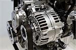 Closeup showing details of a car modern internal combustion engine Stock Photo - Royalty-Free, Artist: hfng                          , Code: 400-05114974