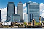 Financial district, bank buildings at London, Canary wharf. Stock Photo - Royalty-Free, Artist: fazon1                        , Code: 400-05131535