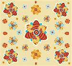 easter pattern Stock Photo - Royalty-Free, Artist: nem4a                         , Code: 400-05135539