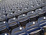 Empty seats in Washington Nationals baseball stadium. Stock Photo - Royalty-Free, Artist: stugriffith                   , Code: 400-05137266