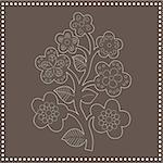 Seamless flower-pattern Stock Photo - Royalty-Free, Artist: Vectorika                     , Code: 400-05141551