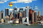 The Mid-town Manhattan Skyline viewed from New Jersey side Stock Photo - Royalty-Free, Artist: gary718                       , Code: 400-05142904
