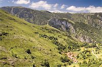 Village of Oceño, Asturias (Spain) Stock Photo - Royalty-Freenull, Code: 400-05147329